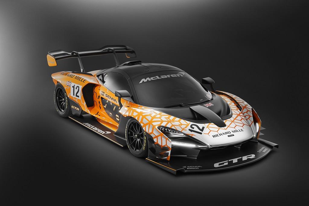 Nuevo McLaren Senna GTR: aún más radical