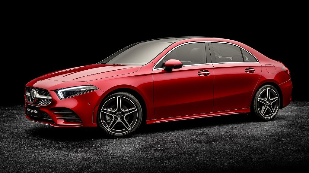Mercedes-Benz Clase A L, una versión berlina solo disponible para china