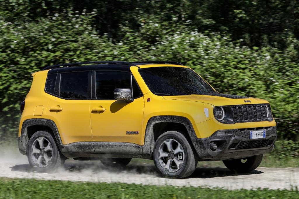 se presenta el nuevo jeep renegade 2019 revista del motor. Black Bedroom Furniture Sets. Home Design Ideas