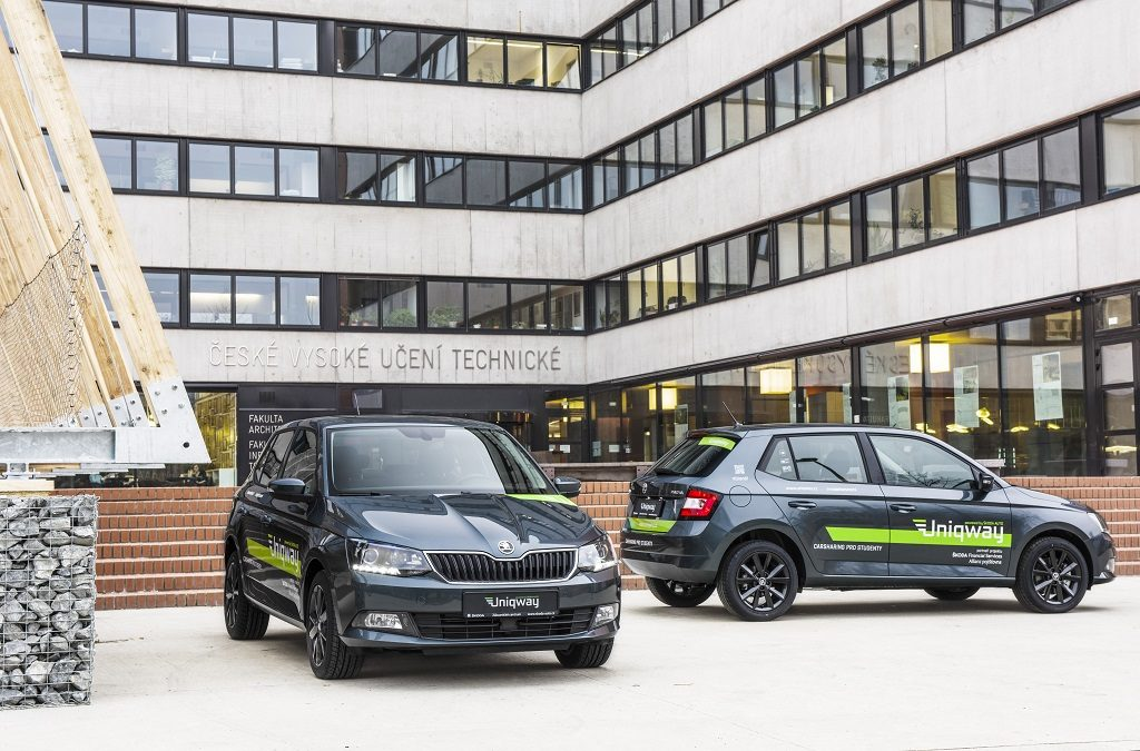 Uniqway, el car sharing de Škoda para estudiantes universitarios