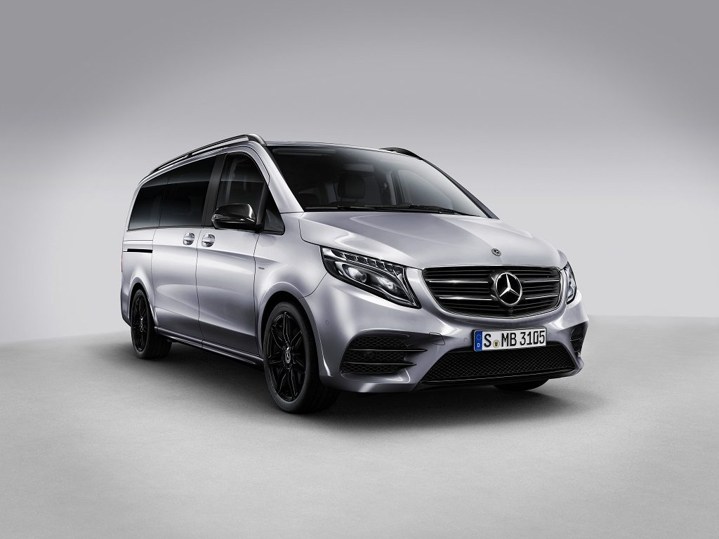 Mercedes-Benz Clase V Night Edition: lujo y dinamismo desde 74.738 euros