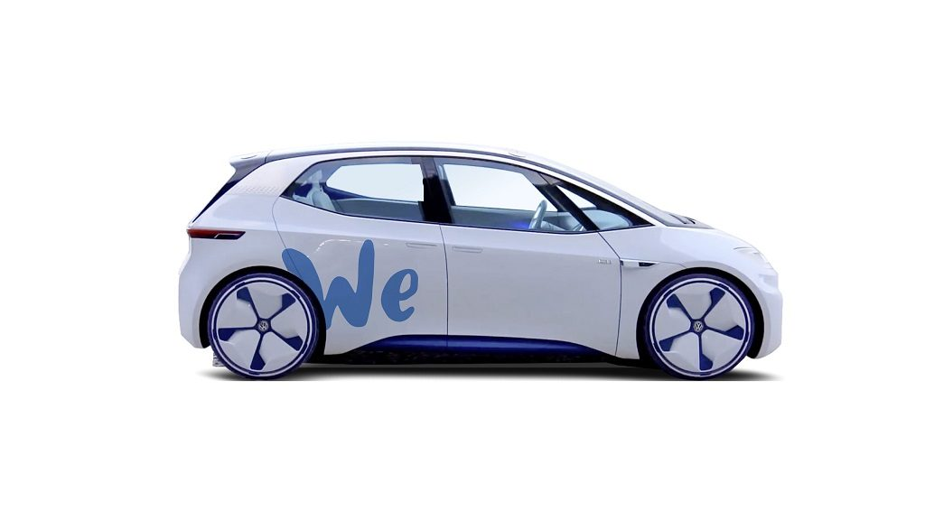 WE, el futuro car sharing cero emisiones de Volkswagen