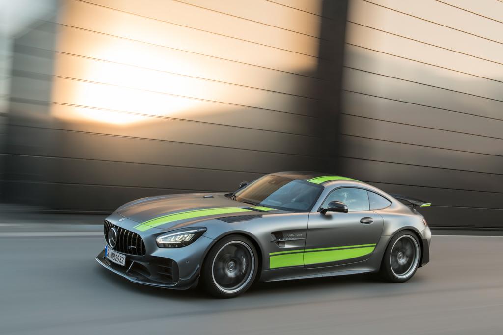 Mercedes-AMG GT y AMG GT R PRO