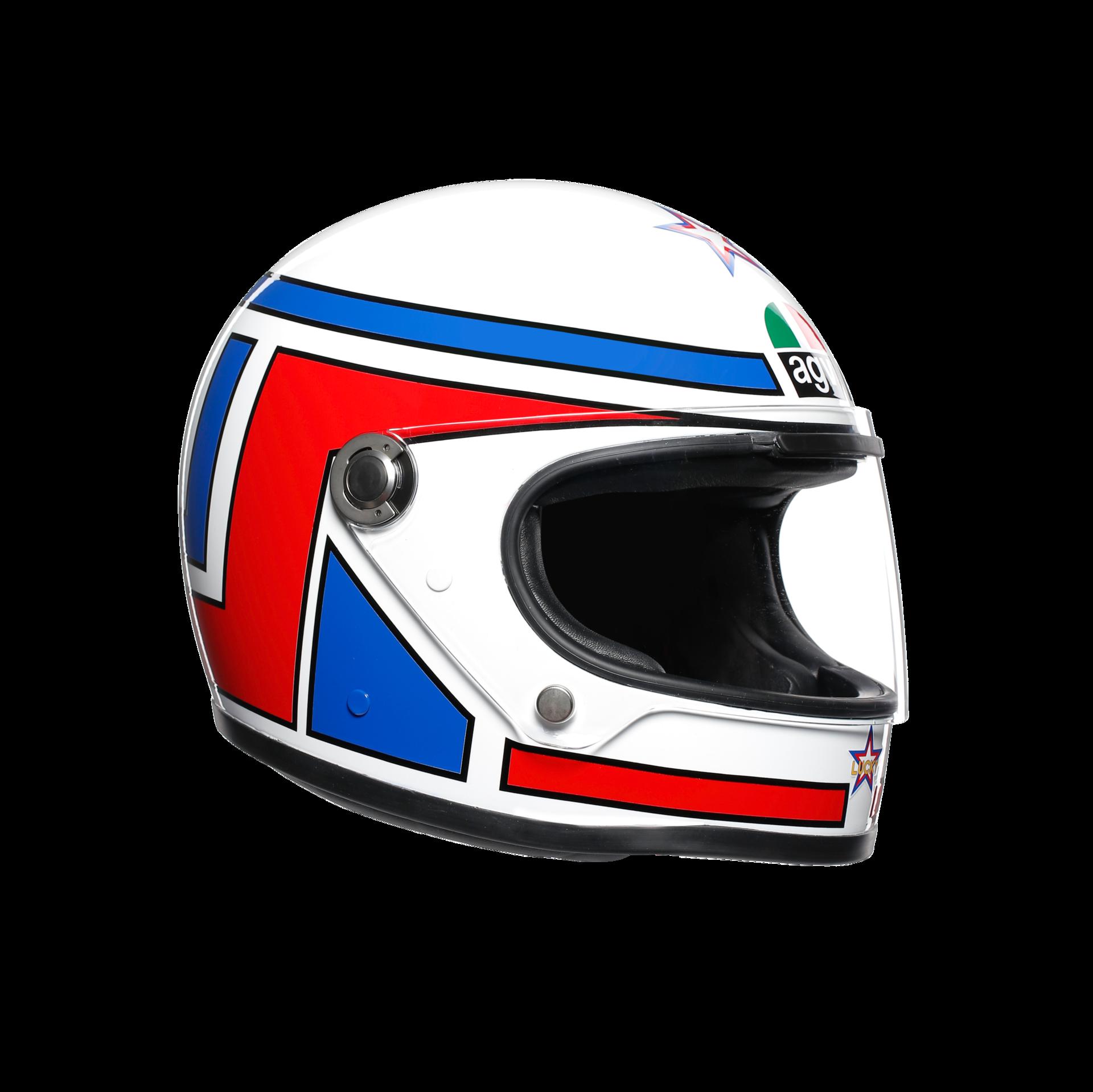 AGV lanza la colección de cascos Legends réplicas de las